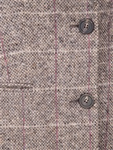 Пальто Peserico S20421A 100% шерсть Серый Италия изображение 4