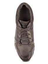 Кроссовки Santoni MBVN20224 100% кожа Серый Италия изображение 4