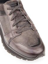 Кроссовки Santoni MBVN20224 100% кожа Серый Италия изображение 5