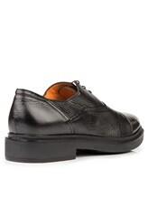 Туфли Santoni MGWG15804 100% кожа Черный Италия изображение 3