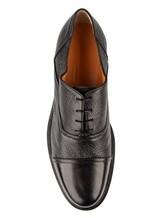 Туфли Santoni MGWG15804 100% кожа Черный Италия изображение 4