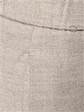 Брюки Peserico P04856 98% шерсть, 2% эластан Серо-бежевый Италия изображение 4