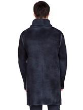 Кардиган AVANT TOI 217U7310 70% шерсть, 30% кашемир Темно-синий Италия изображение 4