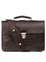 Портфель A.G.Spalding&Bros 184700 100% кожа Темно-коричневый Китай изображение 0