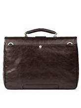 Портфель A.G.Spalding&Bros 184700 100% кожа Темно-коричневый Китай изображение 5