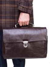Портфель A.G.Spalding&Bros 184700 100% кожа Темно-коричневый Китай изображение 1