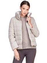 Куртка Peserico S21273C02 69% полиэстер, 29% вискоза, 2% эластан Светло-серый Италия изображение 0