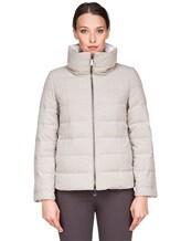 Куртка Peserico S21273C02 69% полиэстер, 29% вискоза, 2% эластан Светло-серый Италия изображение 1