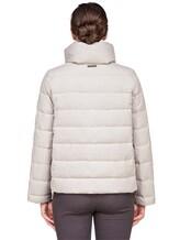Куртка Peserico S21273C02 69% полиэстер, 29% вискоза, 2% эластан Светло-серый Италия изображение 3