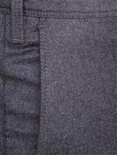 Брюки EREDA 100342 85% шерсть, 10% кашемир, 5% шёлк Темно-серый Италия изображение 5