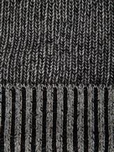 Шапка Bruno Manetti K110 100% кашемир Серо-черный Италия изображение 2