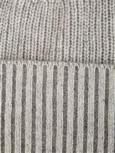 Шапка Bruno Manetti K110 100% кашемир Светло-серый Италия изображение 1