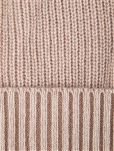 Шапка Bruno Manetti K110 100% кашемир Бежево-розовый Италия изображение 1