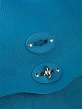 Сумка ZANELLATO 06132 100% кожа Темно-бирюзовый Италия изображение 6