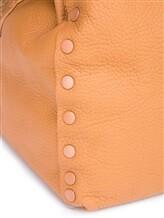 Сумка ZANELLATO 06132 100% кожа Светло-коричневый Италия изображение 6