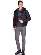 Куртка Herno PI0377U 51% шёлк, 49% кашемир Темно-синий Италия изображение 1