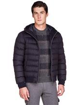 Куртка Herno PI0377U 51% шёлк, 49% кашемир Темно-синий Италия изображение 0