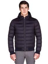 Куртка Herno PI0377U 51% шёлк, 49% кашемир Темно-синий Италия изображение 2