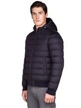 Куртка Herno PI0377U 51% шёлк, 49% кашемир Темно-синий Италия изображение 3