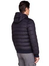 Куртка Herno PI0377U 51% шёлк, 49% кашемир Темно-синий Италия изображение 4