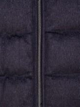 Куртка Herno PI0377U 51% шёлк, 49% кашемир Темно-синий Италия изображение 5