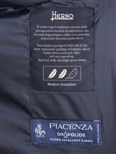 Куртка Herno PI0377U 51% шёлк, 49% кашемир Темно-синий Италия изображение 6