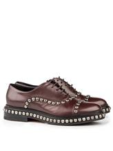 Ботинки Santoni WUVC56733 100% кожа Темно-бордовый Италия изображение 0
