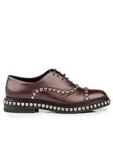Ботинки Santoni WUVC56733 100% кожа Темно-бордовый Италия изображение 1