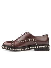 Ботинки Santoni WUVC56733 100% кожа Темно-бордовый Италия изображение 2