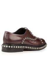 Ботинки Santoni WUVC56733 100% кожа Темно-бордовый Италия изображение 3
