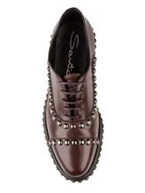 Ботинки Santoni WUVC56733 100% кожа Темно-бордовый Италия изображение 4