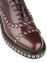 Ботинки Santoni WUVC56733 100% кожа Темно-бордовый Италия изображение 5