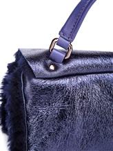 Сумка ZANELLATO 06332 100% кожа ягненка Фиолетовый Италия изображение 6