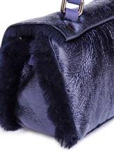 Сумка ZANELLATO 06332 100% кожа ягненка Фиолетовый Италия изображение 7
