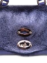 Сумка ZANELLATO 06332 100% кожа ягненка Фиолетовый Италия изображение 8