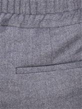 Брюки Peserico P04501 50% шерсть, 34% полиэстер, 15% вискоза, 1% эластан Темно-серый Италия изображение 4