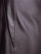 Брюки Piazza Sempione PP029B0 100% кожа ягненка Темно-коричневый Италия изображение 4