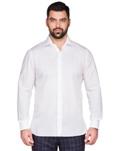 Рубашка ISAIA IF10TC 100%хлопок Белый Италия изображение 1