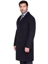 Пальто Massimo Alba FL0RI010 100% шерсть Темно-синий Италия изображение 3