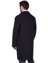 Пальто Massimo Alba FL0RI010 100% шерсть Темно-синий Италия изображение 4