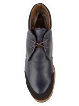 Ботинки Zonkey Boot ZB036 100% кожа Темно-синий Италия изображение 4
