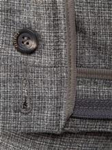 Брюки Peserico P04616 98% шерсть, 2% эластан Темно-серый Италия изображение 5