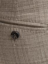 Брюки Peserico P04616 98% шерсть, 2% эластан Светло-бежевый Италия изображение 4