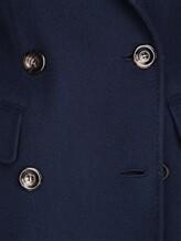 Пальто Stile Latino Napoli CDDIANAMT 100% кашемир Синий Италия изображение 4