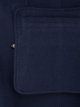 Пальто Stile Latino Napoli CDDIANAMT 100% кашемир Синий Италия изображение 5