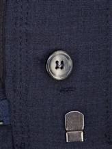 Брюки Lorena Antoniazzi LP3220PA1 96%шерсть4%эластан Темно-синий Италия изображение 6