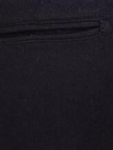Брюки Massimo Alba WINCH2 79% шерсть, 20% полиамид, 1% эластан Черный Италия изображение 4