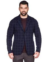 Пиджак Missoni 537431 93% шерсть, 4% полиамид, 3% полиэстер Темно-синий Италия изображение 2