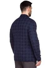 Пиджак Missoni 537431 93% шерсть, 4% полиамид, 3% полиэстер Темно-синий Италия изображение 4