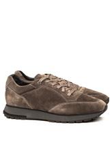 Кроссовки Santoni MBVR20507 100% кожа Серый Италия изображение 0